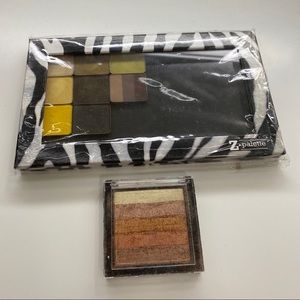 Z-palette with eyeshadows